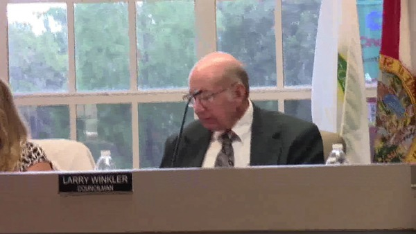 Larry Winkler, Councilman