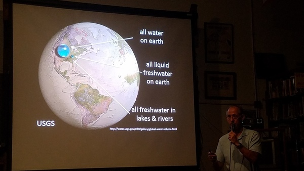 Water on Earth: all, fresh, lakes and rivers
