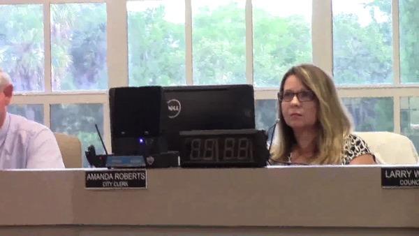 Amanda Roberts, City Clerk
