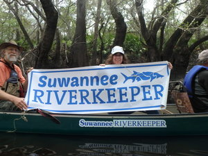 Suwannee Riverkeeper on the Alapaha River 30.9296033, -83.0360400