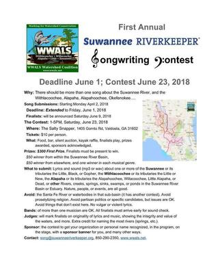 [Extended Deadline June 1, Contest June 23, 2018]