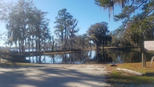Banks Lake Boat Ramp