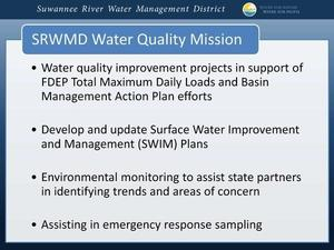 SRWMD Water Quality Monitoring 2019-04-25