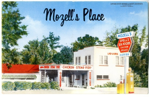 [Mozell's Place Post Card]