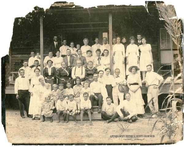 [Polk ca 1918 Mayo FL Suwannee River 001 400 dpi restored HE 2]