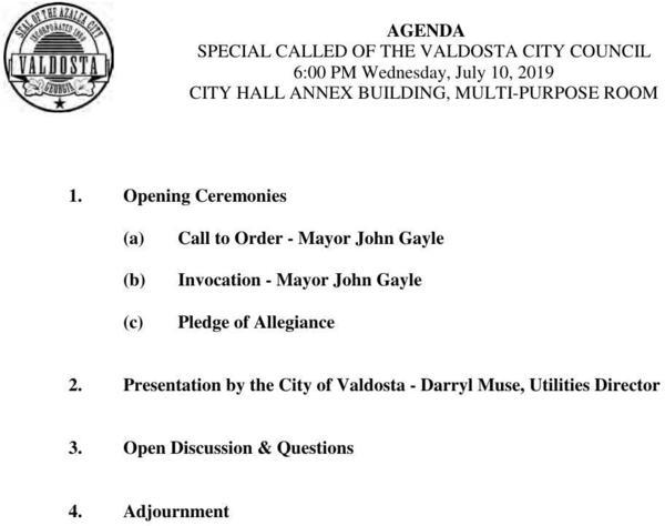 [071019-Special-Called-Meeting-Agenda-0001]