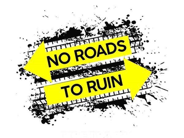 [No Roads to Ruin Logo]