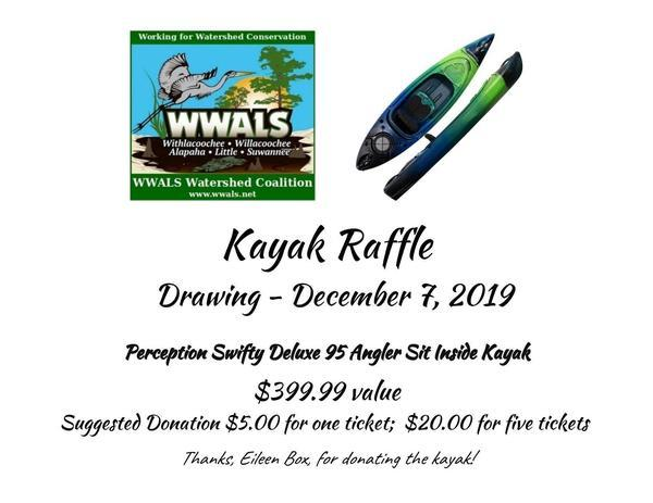 [Kayak Raffle Drawing December 7, 2019]