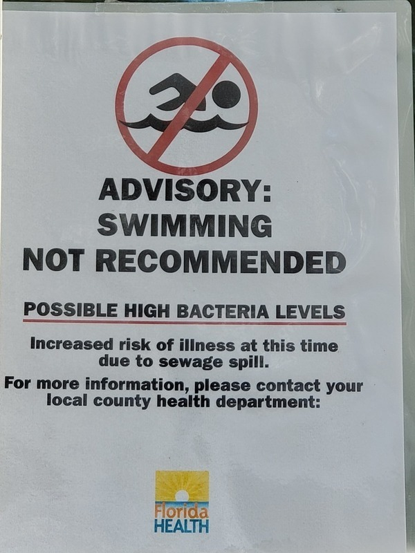 [Advisory: Possible High Bacteria Levels]
