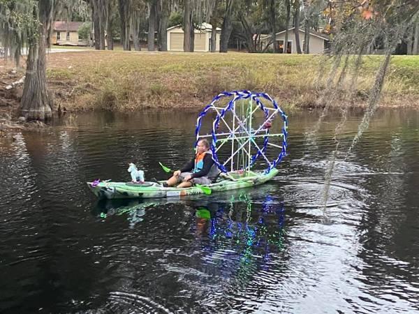 [Bobby McKenzie paddling]