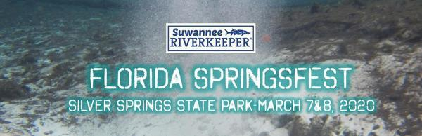 [Suwannee Riverkeeper at Florida SpringsFest 2020]