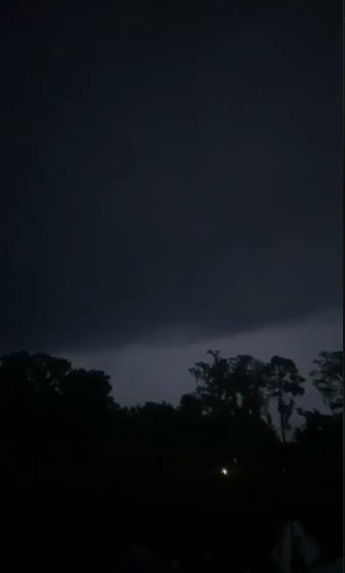 [Rain coming]