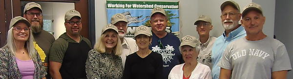 [BLRPR hats on WWALS Board and volunteers]