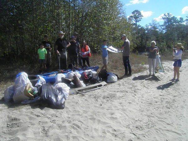 [Lakeland cleanup, Alapaha River]