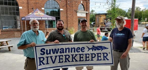 [T2, Jack, Chris, jsq, Georgia Beer Co., Suwannee Riverkeeper]