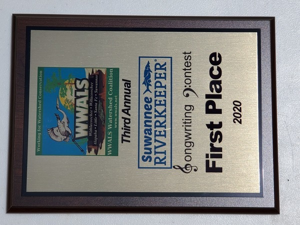 [First Prize, Suwannee Riverkeeper Songwriting Contest]
