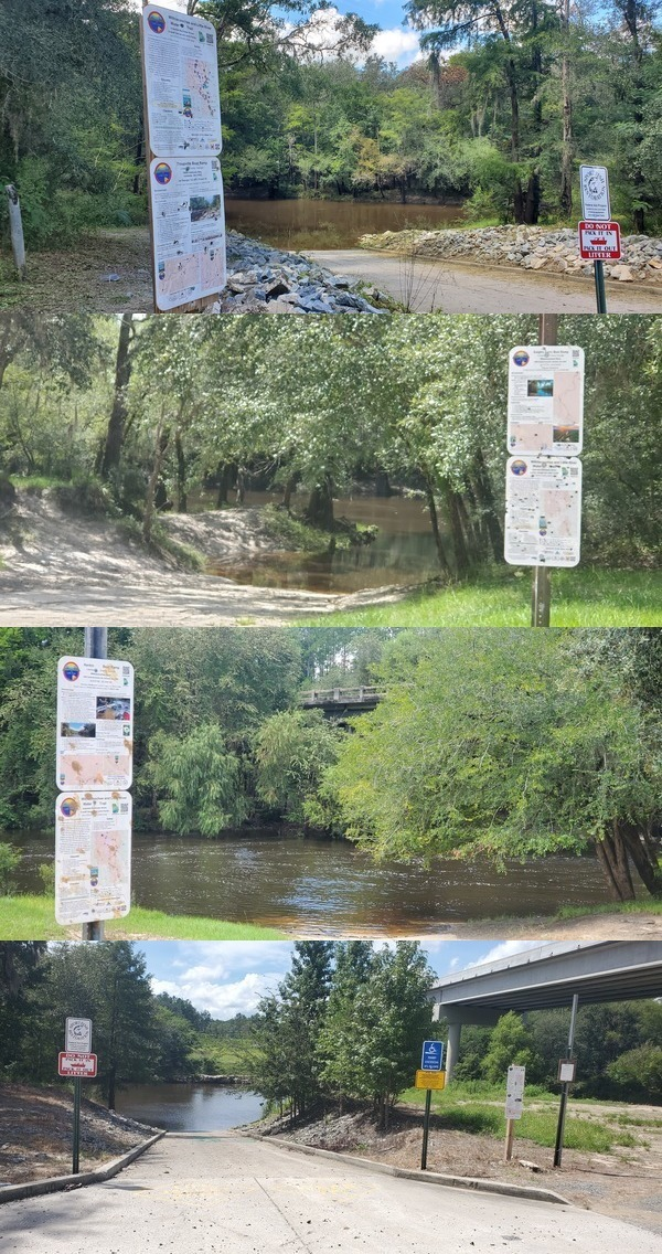 [Pictures at Troupville, KF, Nankin, SL Boat Ramps]