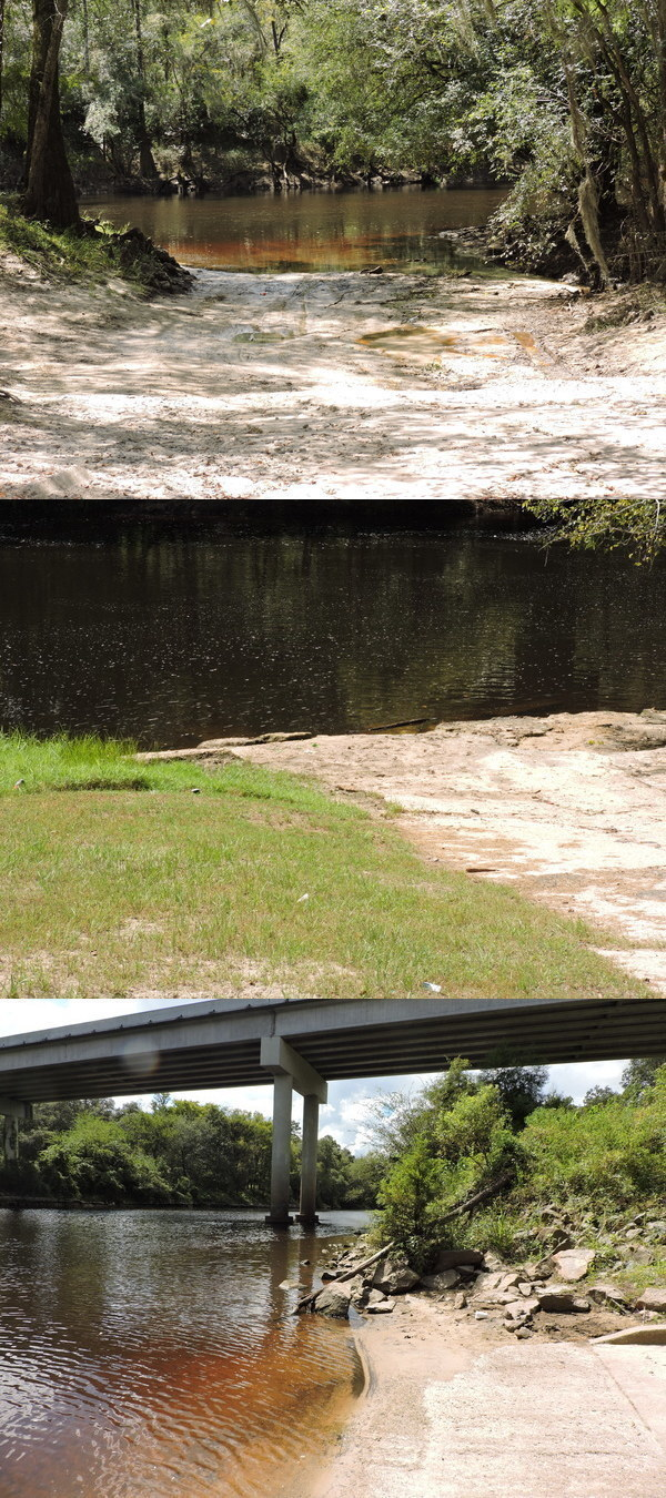 Withlacoochee River: Knights Ferry, Nankin, and State Line Boat Ramps 2020-09-10