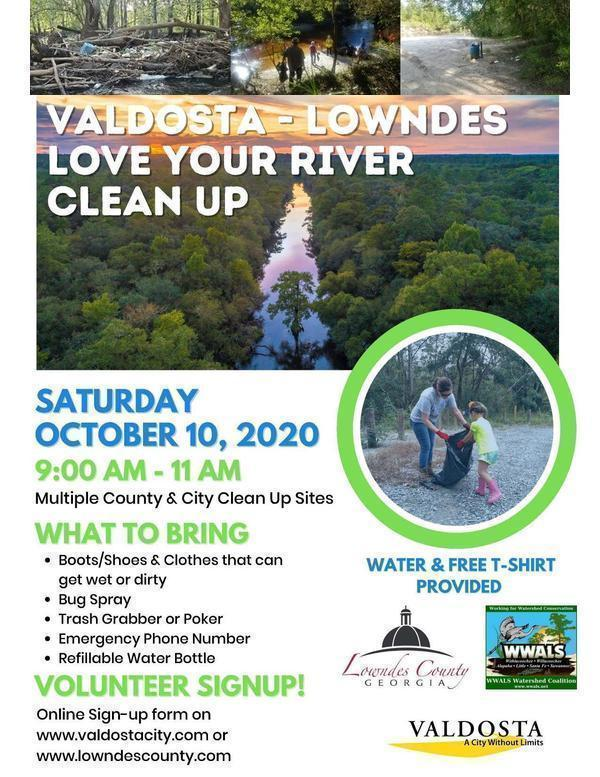 [Flyer: Cleanup on three rivers, many creeks]
