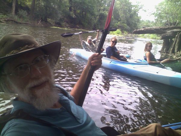 WWALS paddle, Sabal Trail pipeline crossing, US 84 bridge