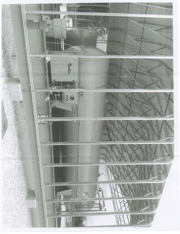 picture of odorant tank