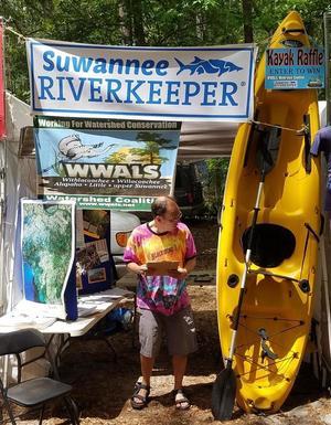 Kayak being raffled