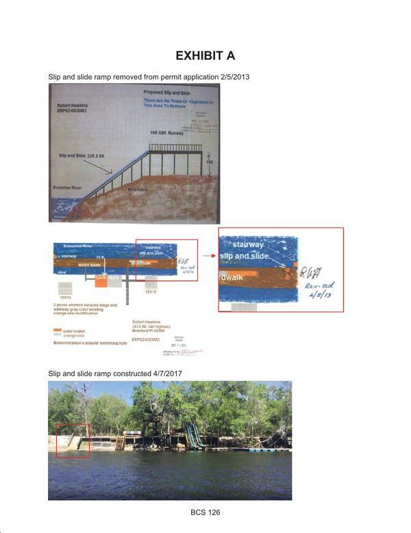 [Slip and slide ramp removed from permit application 2/5/2013 yet constructed 4/7/2017]