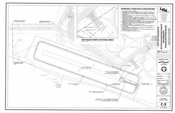 [SITE and UTILITY PLAN]
