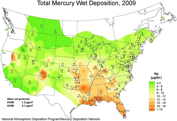 [Mercury Deposition USA 2009]
