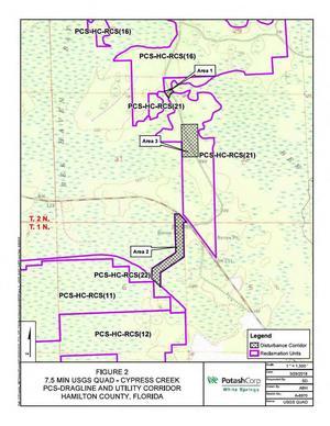 [Map: 7.5 MIN USGS Quad Cypress Creek]