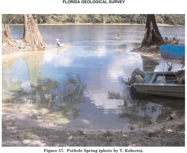 [Figure 57. Pothole Spring (photo by T. Roberts)]