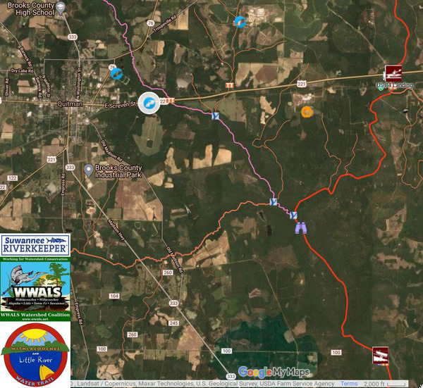 [Quitman Land Application Site]