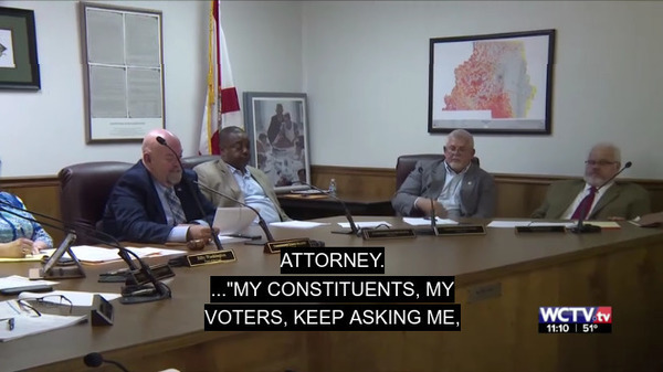 [Attorney. My constituents, my voters, keep asking me....]