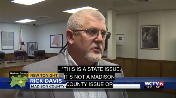 [This is a state issue --Rick Davis, Chair, Florida Counties Task Force]