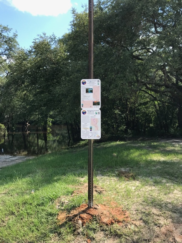 [Knights Ferry Boat Ramp signs]