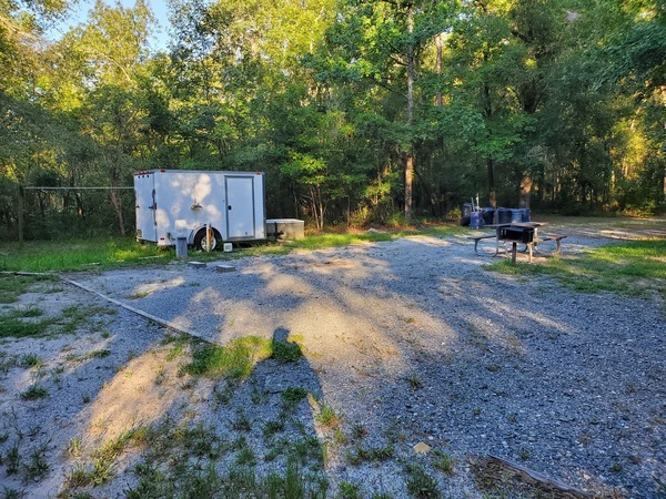 [RV Pad for camp host, 2020:07:19 08:10:14, 30.2468391, -83.2467951]