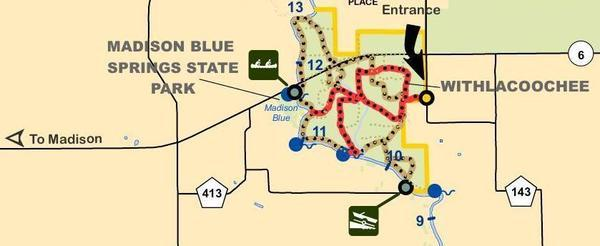 [SRWMD map of Pot Spring Tract]