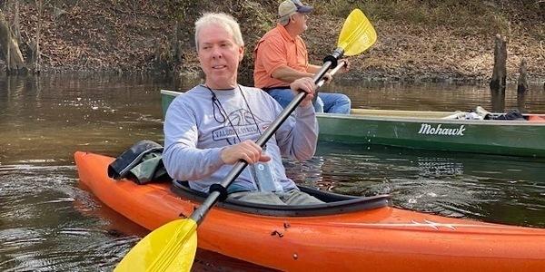 [Valdosta Mayor Scott James, Florida Task Force Chair Rick Davis]