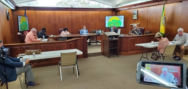 [Second reading will be Monday, 21 Sep 2020, 5:30 PM --John Flythe, City Manager]