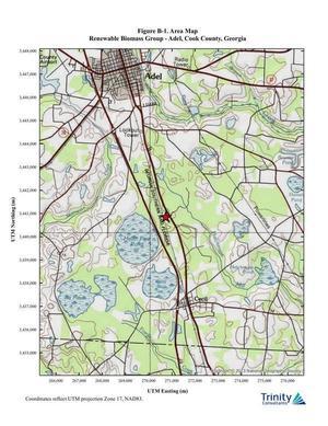 [Figure B-1. Area Map]