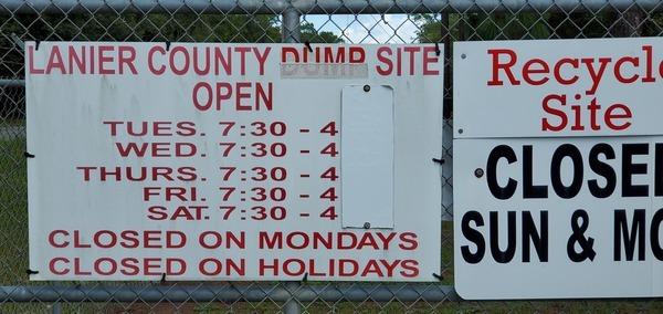 [Lanier County Dump Site]