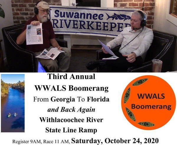 [WWALS Boomerang --Suwanee Riverkeeper on Scott James Radio]