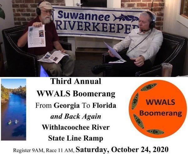[WWALS Boomerang --Suwanee Riverkeeper on Scott James Radio]