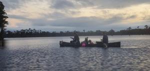 [Five McKenzies in a boat]