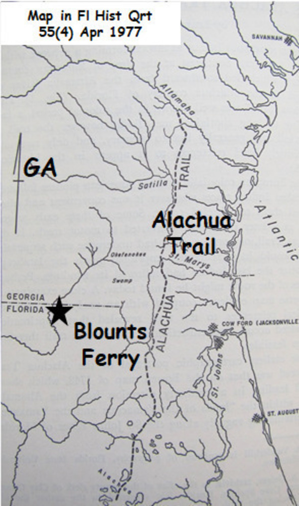 [1977 Florida Trail Map]