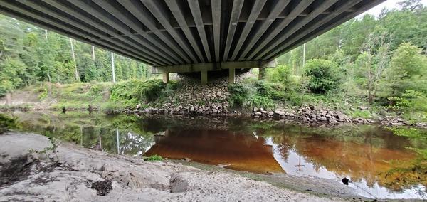 [GA 133 bridge, Withlacoochee River, 2020-08-23]