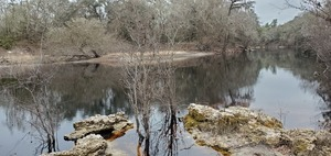 [Upstream from the beach]