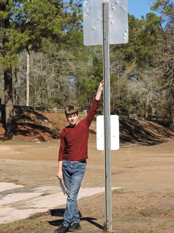[Jacob and the signpost]
