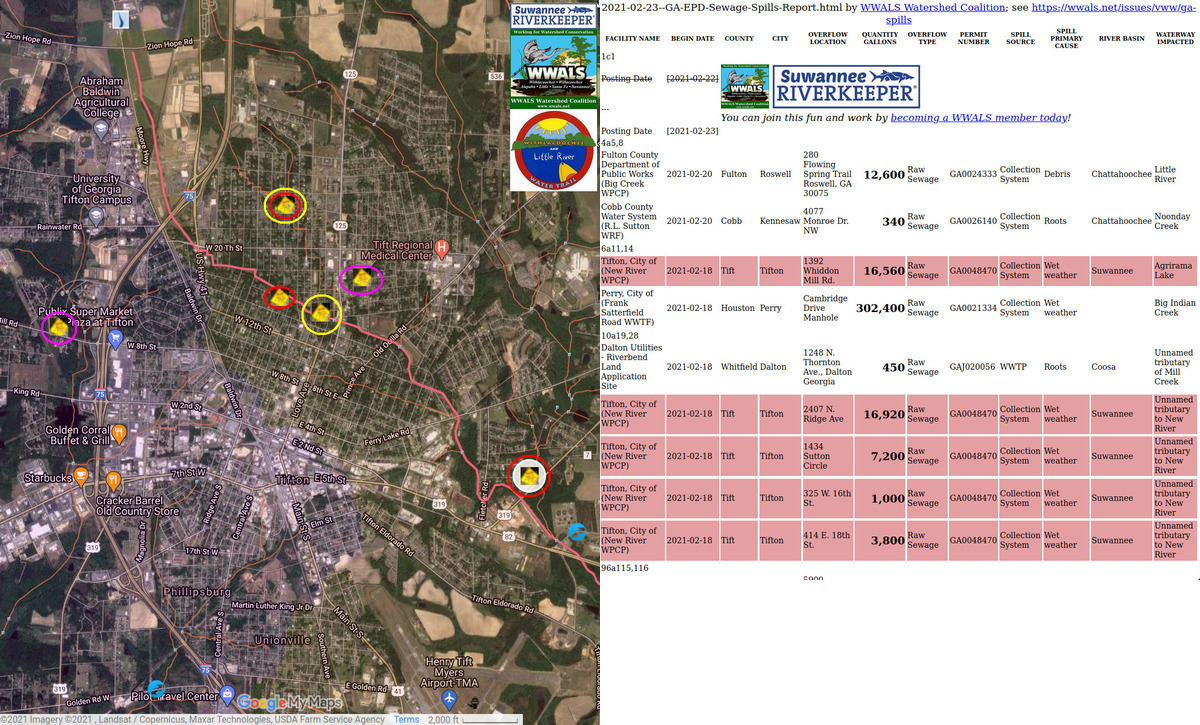 [Tifton spills and locations 2021-02-18]
