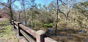 [Upstream Brooks County flooded]
